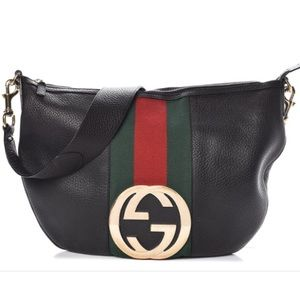 🇮🇹RARE🇮🇹 large Italian Gucci hobo blondie